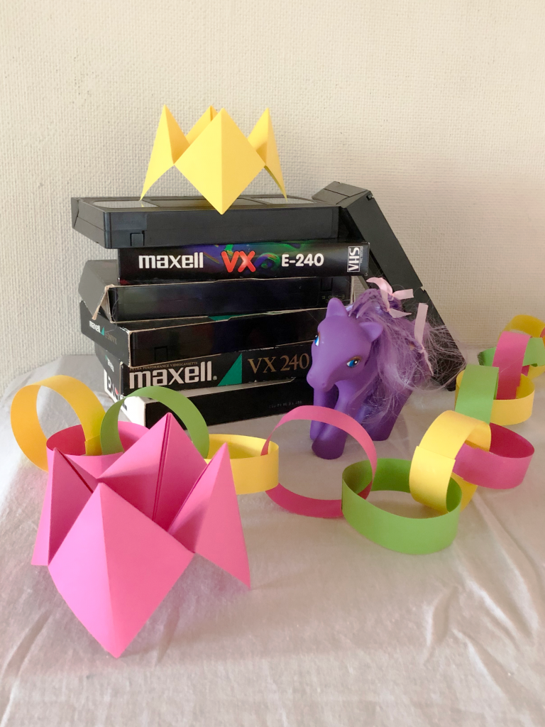 vhs, my little pony, loppor, pappersgirlang